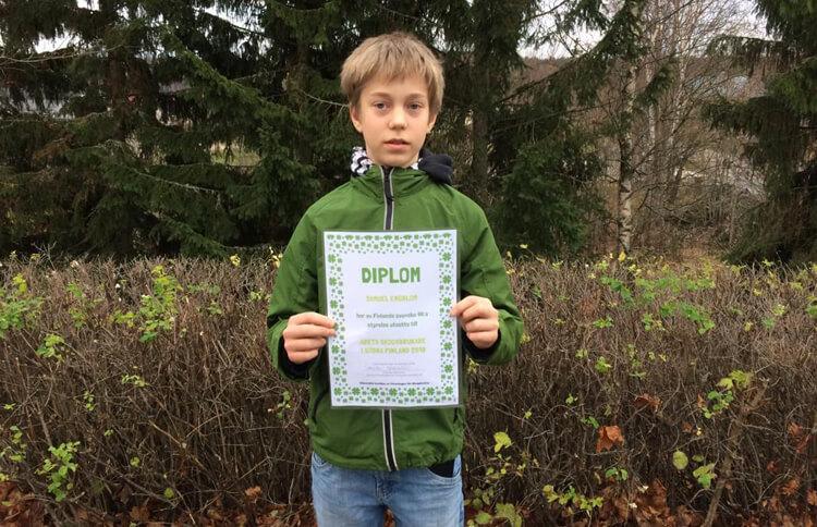 Årets skogsbrukare i södra Finland är Samuel Engblom från Kimitoön featured image