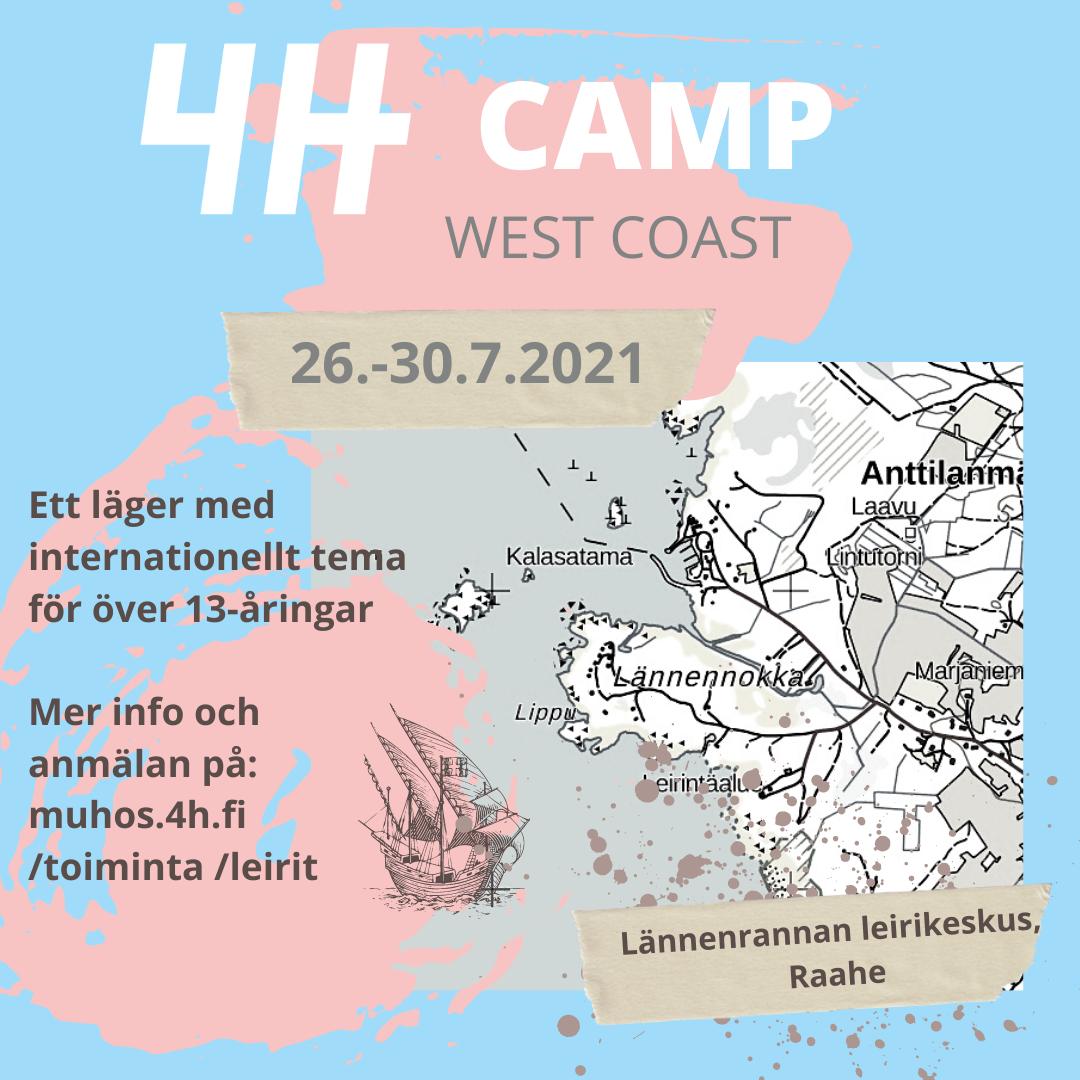 4H CAMP – West coast featured image